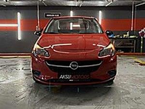 AKSU MOTORS  Opel Corsa Otomatik Kırmızı Opel Corsa 1.4 Design