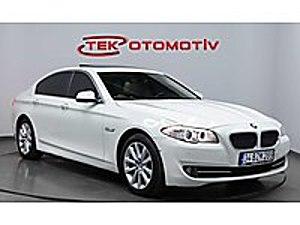 TEK OTOMOTİV   2012 525d XDRİVE EXCLUSİVE BOYASIZ FUUL FUUL BMW 5 Serisi 525d xDrive  Exclusive