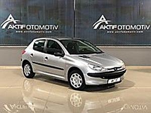 A K T İ F den 2002 PEUGEOT 206 1.4İ XR 75 HP SADECE 99.800 KM DE Peugeot 206 1.4 XR