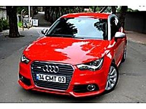 2011 MODEL - 57.000 KM - HATASIZ KIRMIZI S-LİNE LED FAR F1 Audi A1 1.4 TFSI Ambition