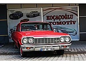 1964 CHEVROLET BİSCAYNE KOLDAN MANUEL İÇ DIŞ KIRMIZI Chevrolet Biscayne Biscayne
