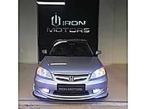 İRON MOTORS  DAN HASTASINA 2005 MODEL HONDA CİVİC 1.6 VTEC2 Honda Civic 1.6 VTEC ES