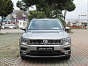 UĞUR OTO 2018 TİGUAN 1.4 TSİ COMFORTLİNE CAM TAVAN 8.900 KM Volkswagen Tiguan 1.4 TSi Comfortline
