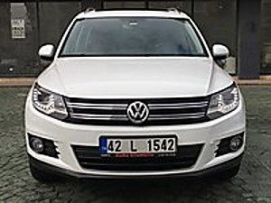 2014 TİGUAN 2.0 TDI DSG 4 ÇEKER HATASIZ BOYASIZ CAM TAVANLI Volkswagen Tiguan 2.0 TDi Sport Style