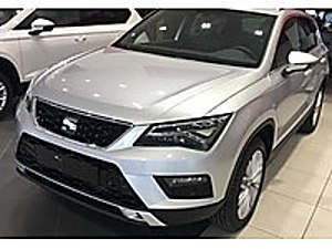 GÜMÜŞ OTOMOTİVDEN 2019 SIFIR ATECA 1.6 TDI EXCELLENCE GÜMÜŞ GRİ Seat Ateca 1.6 TDI Ecomotive Xcellence