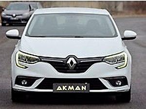 AKMAN DAN 2017 RENAULT MEGANE 1.5 DCİ TOUCH  18 KDV Renault Megane 1.5 dCi Touch