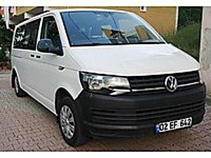 2016 VOLKSWAGEN TRANSPORTER 2.0 TDİ 102 HP 9 1 MİNUBUS RUHSATLI Volkswagen Transporter 2.0 TDI Camlı Van
