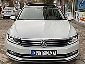 2017 PASSAT 87 BİN EXRA ÖZELLİK SERVİS GARANTİLİ SANRUF OTOMATİK Volkswagen Passat 1.6 TDi BlueMotion Comfortline