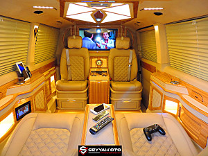 SEYYAH OTO 2019 CARAVELLE 4 MOTION BUSINESS CLASS LÜX VIP DIZAYN DSG 4X4 HIGHLINE 199 HP SAFKAN