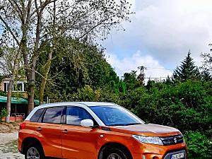 2017 VITARA GL  TURUNCU BEYAZ ORJINAL SUV
