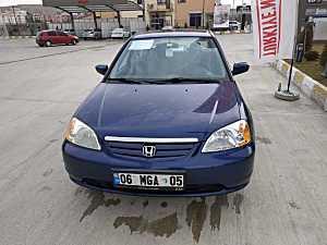 Emekli astsubaydan Honda civic