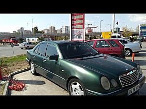 Sahibinden satılık temiz kullanılmış mersede  avangart 1997 model  otomatik e200