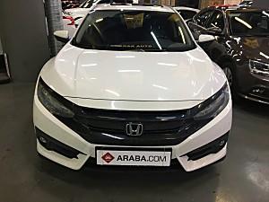 2017 Model 2. El Honda Civic 1.5 RS - 130000 KM