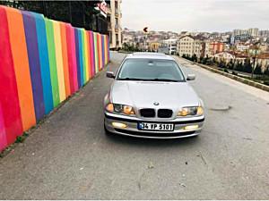 GALERİA SARI DAN 2001 BMW 3.16İ MANUEL VİTES SANRUFLU DEĞİŞENSİZ