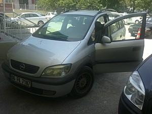 Memurdan Satılık 2002 Model Opel Zafira Comfort Full