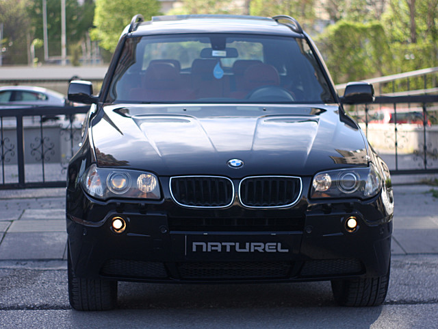NATUREL DEN 2004 BMW X3 3.0I 232HP SİYAH İÇİ-KIRMIZI