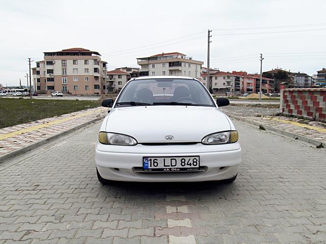 HYUNDAI ACCENT LS 1997 MODEL 176.XXX KM