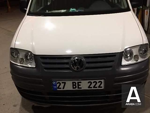 Volkswagen Caddy 1.9 TDI Kombi ilk sahibinden garaj aracı