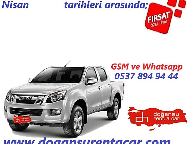 ISUZU DMAX 4X4 PİKAP