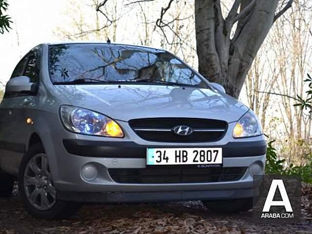Hyundai Getz 1.5 VGT SON FIYAT...