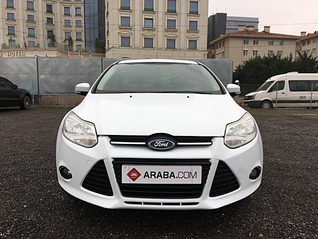 2014 Model 2. El Ford Focus 1.6 TDCi Trend X - 106854 KM