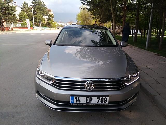 VW.PASSAT 1.6 TDI BMT DSG SIFIR AYARINDA HATASIZ 6231 KM