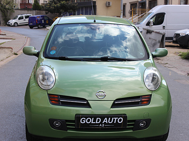 GOLD AUTO A.Ş - 2005 MODEL 103BİN KM FISTIK YEŞİL KAZASIZ TEKNA