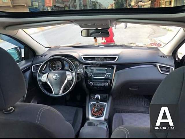 Nissan Qashqai 1.5 dCi Cam tavan star  stop