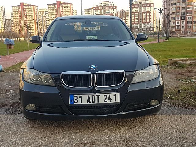 Sahibinden 2006 Model 280 000 Km De Siyah Bmw 3 Serisi 3 16i Araba