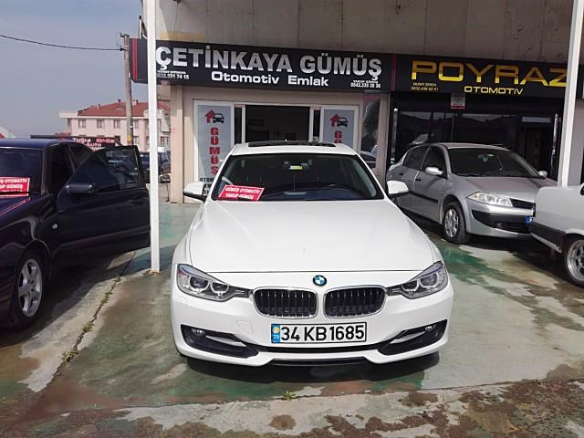 GÜMÜŞ OTODAN BMW 320D