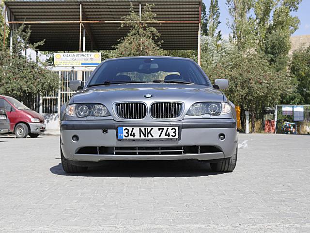 SAHİBİNDEN TEMİZ BMW 320D OTOMATIK SILBERGRAU METALLIC