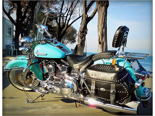 Müzelik Harley Heritage FLSTC - Sıfır Kadar Temiz