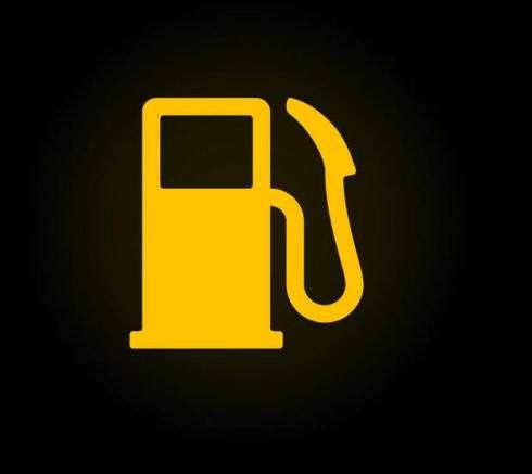 araba göstergeleri: yakıt miktarı ikaz göstergesi