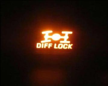 differansiyel kilidi uyarı lambası