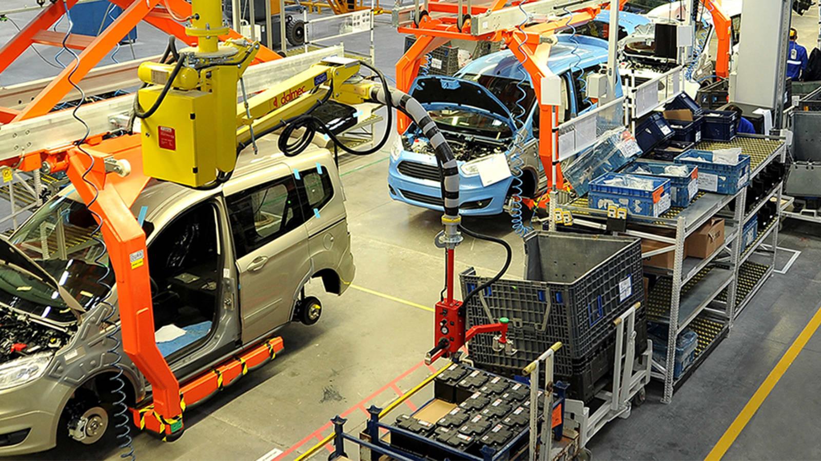 araba üretim fabrikası