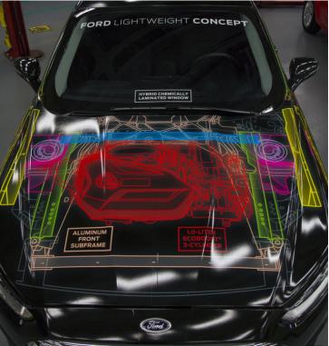 Ford, F-150 ile hafif araçların yakıt üstünlüğünü göstermeyi amaçlıyor.