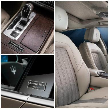 Maserati'nin özel versiyonunu ünlü modacı giydirdi.
