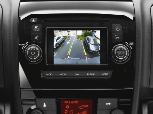 Geri görüş kamerası, sürüş konforunu artırıyor.