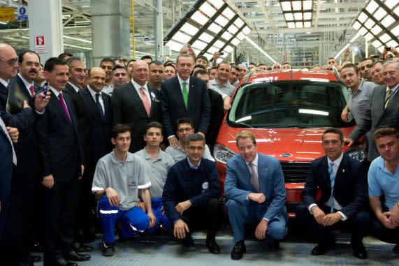 Ford Otosan Yenikoy Fabrikasi Acilisi_2