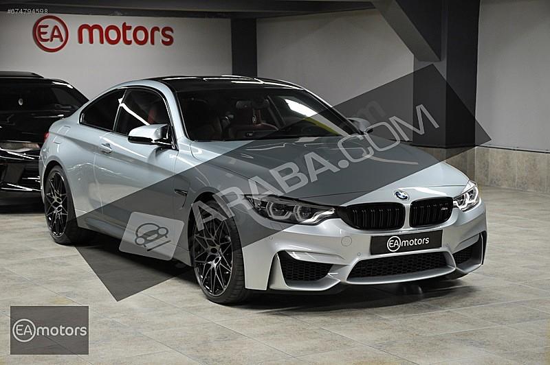 EA MOTORS 2017 9 BİNKM BMW   M4 COMPETİTİON SILVERSTONE BOYASIZ BMW M Serisi M4 Competition