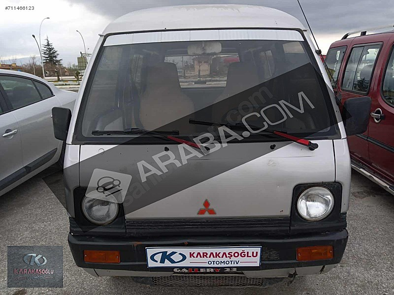 Karakaşoğlu Otomotivden 1986 Orjinal Emsalsiz L100 1.0 Motor 3 1 Mitsubishi - Temsa L L 100