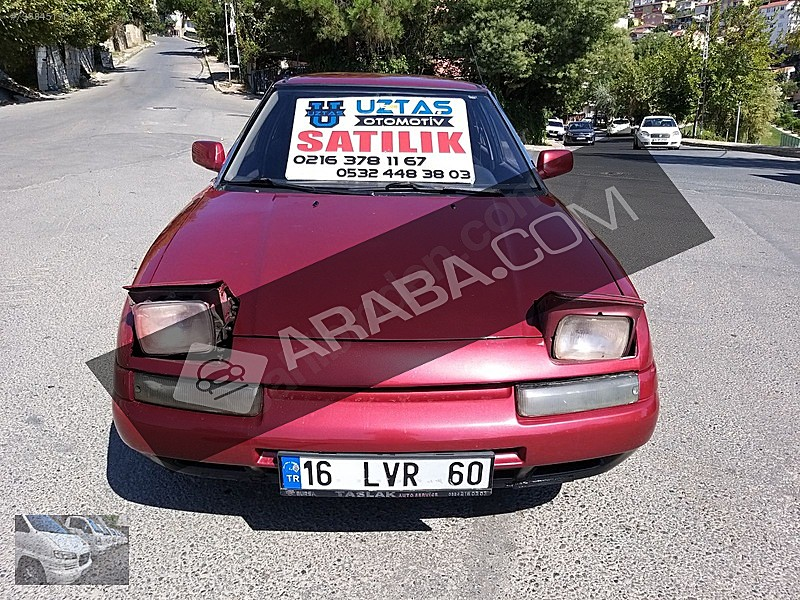 UZTAŞ OTOMOTİV DEN 1992 MAZDA fiyat 1 haftalığına geçerlidir Mazda 323 1.6 1.6i