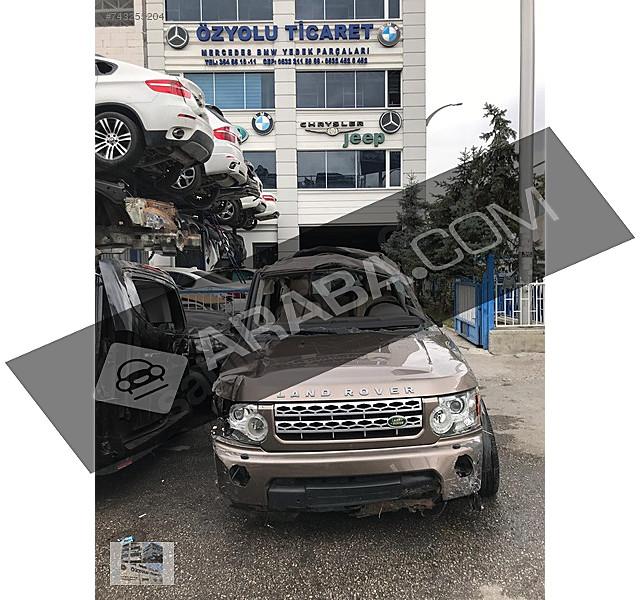 ÖZYOLU TİCARETTEN 2012 MODEL DİSCOVERY 4 3 0 TDV6 HURDA BELGELİ Land Rover Discovery