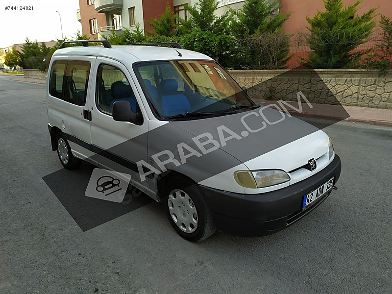 2002 MODEL PARTNER OTOMOBİL RUHSATLI Peugeot Partner 1.9 D