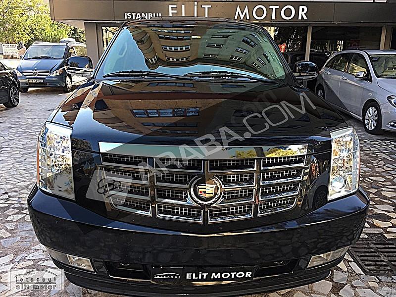 ist.ELİT MOTOR dan 2012 ESCALADE 6.0 V8 Hybrid Platinum Cadillac Escalade 6.0 V8 Hybrid