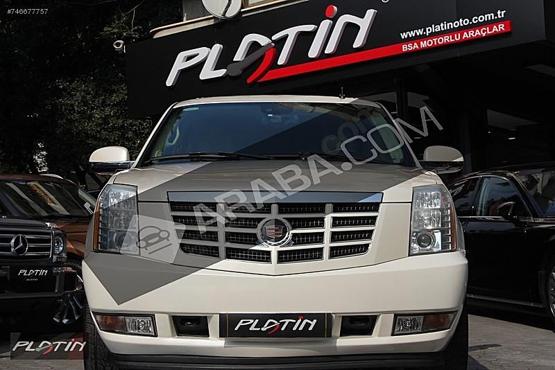 2007 CADILLAC ESCALADE 6.2 V8 PLATINUM YAN BASAMAK BOSE FULL Cadillac Escalade 6.2 V8