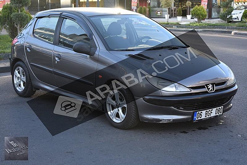 BERKAYHANDA 1999 PEUGEOT 206 1.4 XR OTOMATİK VİTES LPG Lİ 5 KAPI Peugeot 206 1.4 XR