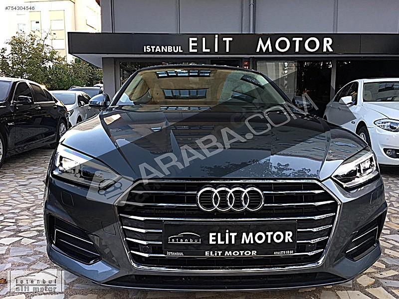 ist.ELİT MOTOR dan 2017 AUDİ A5 Sportback 1.4 Sport 150 HP Audi A5 A5 Sportback 1.4 TFSI Sport
