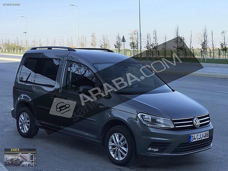 2018 VW CADDY -OTOMATİK VİTES COMFORTLİNE 87.000 TL KREDİ İMKANI Volkswagen Caddy 2.0 TDI Comfortline