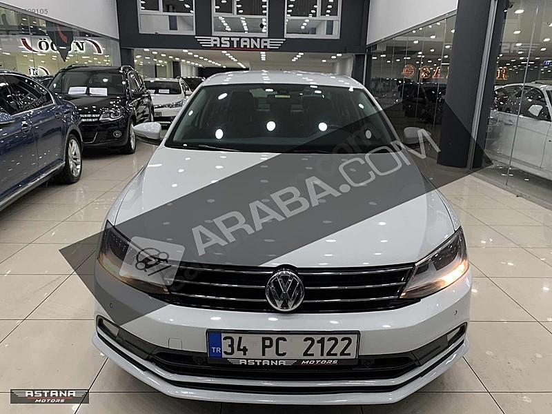 BLUETOOTH LU 2015 JETTA 1.6 TDİ DSG COMFORTLİNE DSG BEYAZ Volkswagen Jetta 1.6 TDi Comfortline